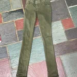 Alice + Olivia Army Green Pants Size 2